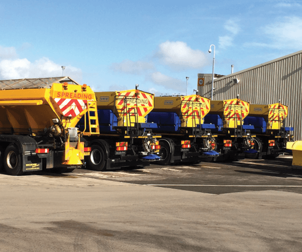 gritting fleet - road gritting hull & yorkshire