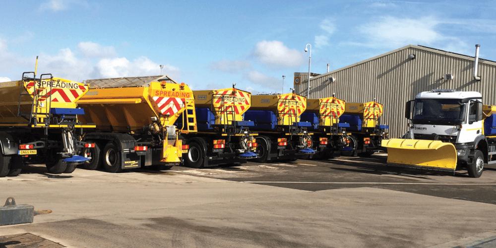 gritting fleet - road gritting hull & yorkshire
