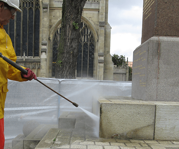 stone cleaning - industrial cleaning hull & yorkshire