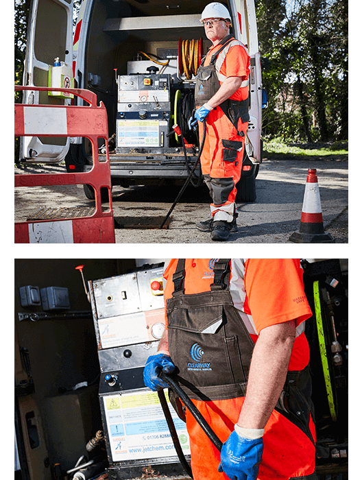 commercial blocked drain services hull - operator
