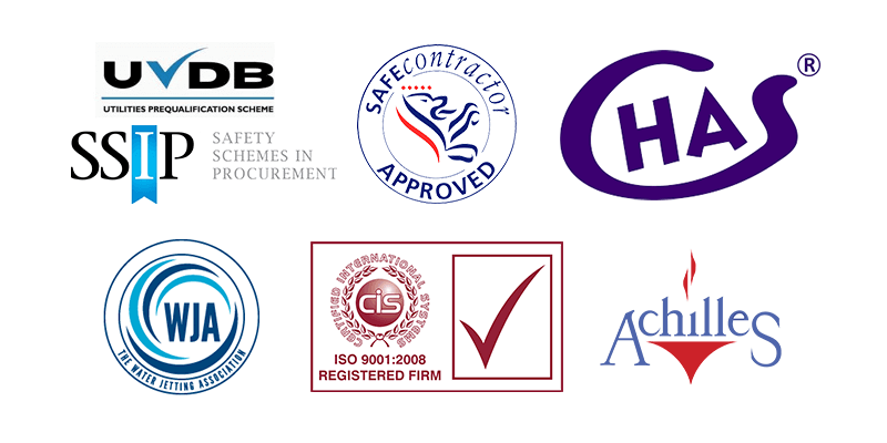 commercial blocked drain services hull - accreditations