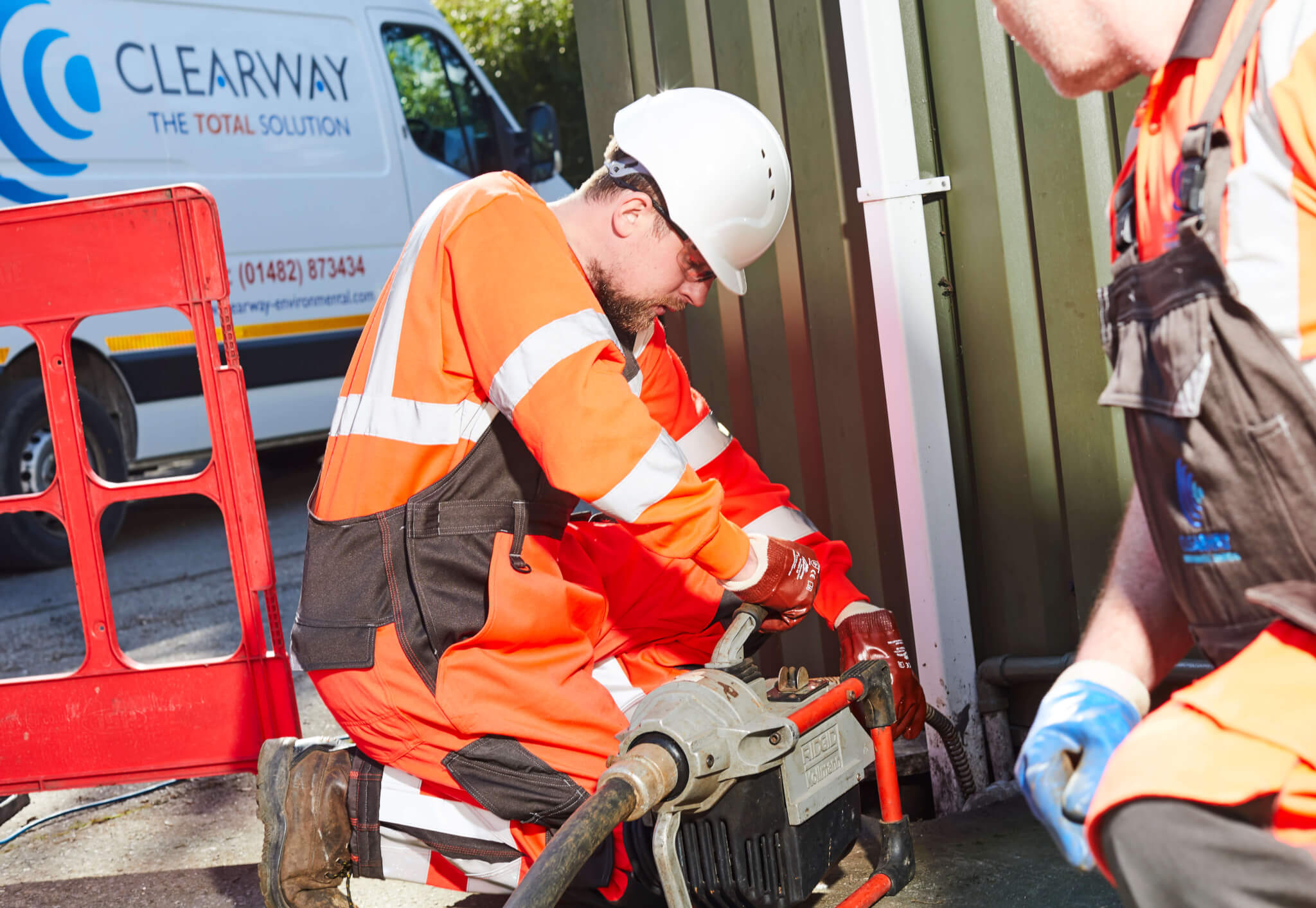 commercial blocked drain services hull & yorkshire